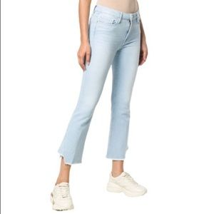 NWT Frame Denim Le Crop Mini Boot Gusset Jeans